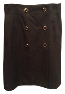 Banana Republic Skirt Black & Gold