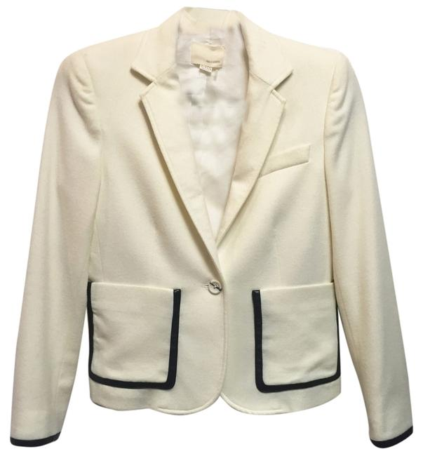 Preload https://item2.tradesy.com/images/band-of-outsiders-cream-wool-with-leather-trim-blazer-size-0-xs-10318486-0-1.jpg?width=400&height=650