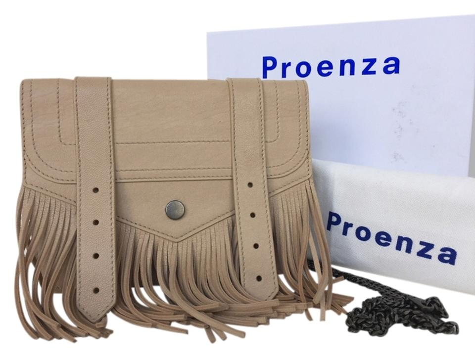 Nude Cross Leather Schouler Wallet Ps1 Large Proenza Bag Fringe Body qfnXFgwx6x