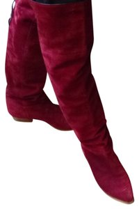Charles Jordan PARIS Made in FRANCE Red Boots