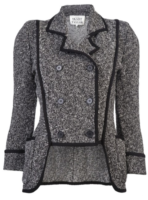Preload https://img-static.tradesy.com/item/10318840/skaist-taylor-black-boucle-jacket-blazer-size-4-s-0-1-650-650.jpg