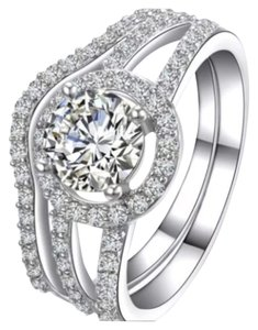 2PC Engagement/Wedding Ring