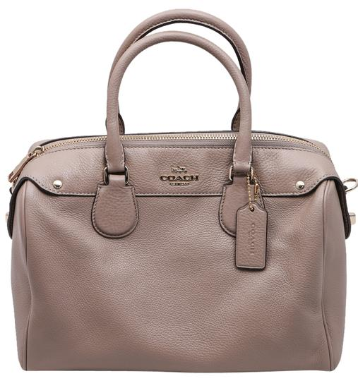 Preload https://item3.tradesy.com/images/coach-bennet-pebbled-brown-leather-satchel-10319272-0-1.jpg?width=440&height=440