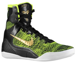 Nike Black and Green Athletic