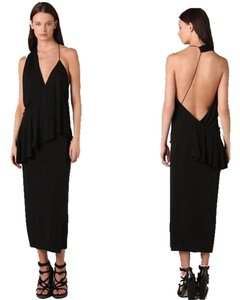 Black Maxi Dress by Alexander Wang Helmut Lang Alice + Olivia