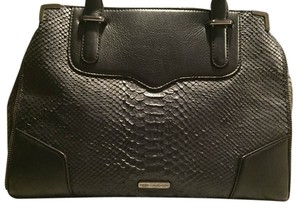 Rebecca Minkoff Satchel in Black and Navy