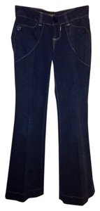 Kasil Boot Cut Jeans-Dark Rinse