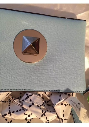 Kate Spade Leather Wallet Blue Clutch