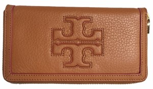 Tory Burch Tory Burch BRAND NEW WITH TAGS TORY BURCH JESSICA CONTINENTAL WALLET LEATHER LUGGAGE