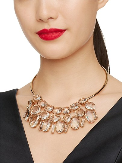 Preload https://item1.tradesy.com/images/kate-spade-metallic-glass-neutral-gold-vegas-statement-collar-necklace-10324270-0-3.jpg?width=440&height=440