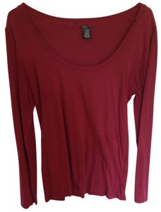 Wet Seal Top Maroon