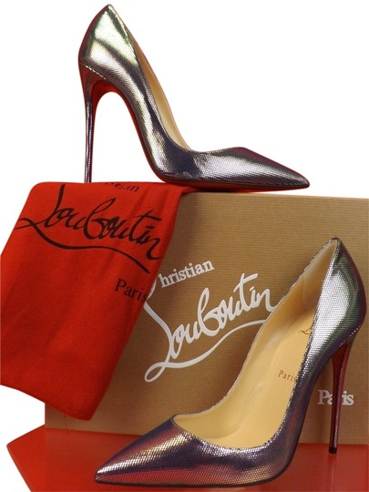Preload https://img-static.tradesy.com/item/10324546/christian-louboutin-multicolor-so-kate-120-silver-tissu-scarabe-leather-classic-pumps-size-eu-38-app-0-1-540-540.jpg
