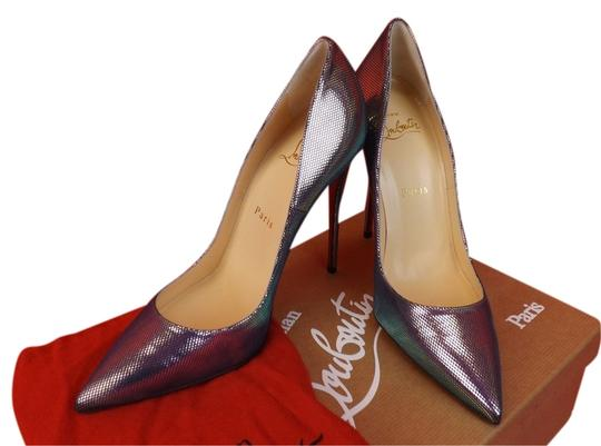 Preload https://item2.tradesy.com/images/christian-louboutin-multi-colordigitale-so-kate-120-silver-tissu-scarabe-leather-classic-pumps-size--10324561-0-1.jpg?width=440&height=440