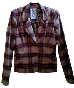 L.A.M.B. Plaid Blazer