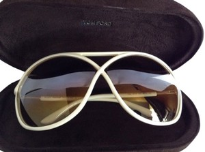 Tom Ford New! Tom Ford TomFord Beige Ivory Vicky Sunglasses
