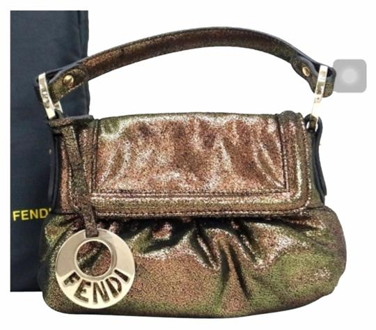 Fendi Satchel in Gold And Rose Gold
