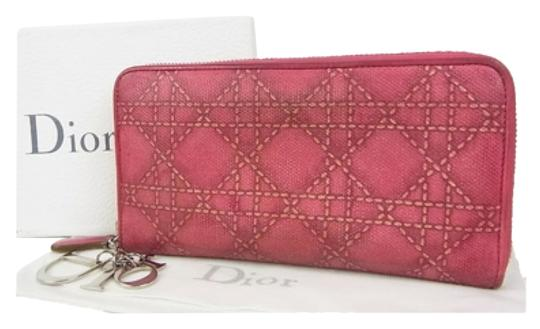 Preload https://item1.tradesy.com/images/dior-cannage-pink-pvc-leather-wristlet-10326115-0-1.jpg?width=440&height=440