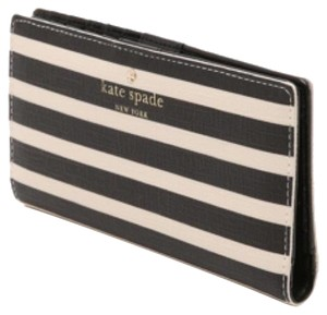 Kate Spade Kate Spade Navy Striped Stacy Wallet New With Tags