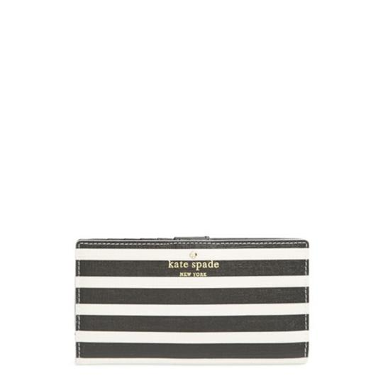 Kate Spade Kate Spade Navy Striped Stacy Wallet New With Tags Image 1
