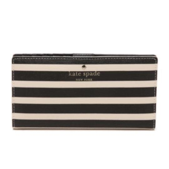 Kate Spade Kate Spade Navy Striped Stacy Wallet New With Tags Image 11