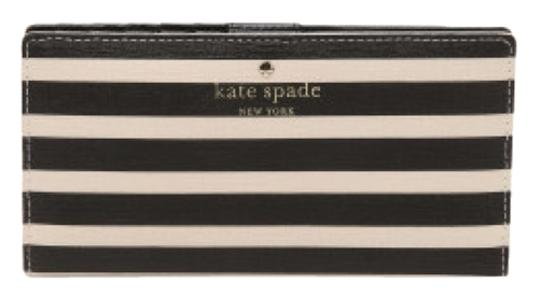 Kate Spade Kate Spade Navy Striped Stacy Wallet New With Tags Image 2