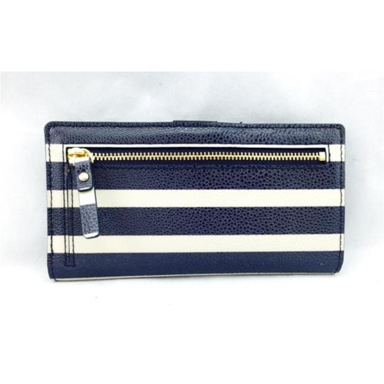 Kate Spade Kate Spade Navy Striped Stacy Wallet New With Tags Image 6