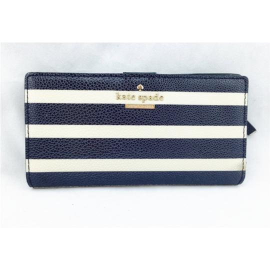 Kate Spade Kate Spade Navy Striped Stacy Wallet New With Tags Image 8
