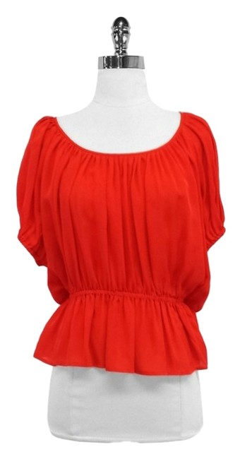 Preload https://item5.tradesy.com/images/joie-red-silk-blouse-size-4-s-10326994-0-1.jpg?width=400&height=650