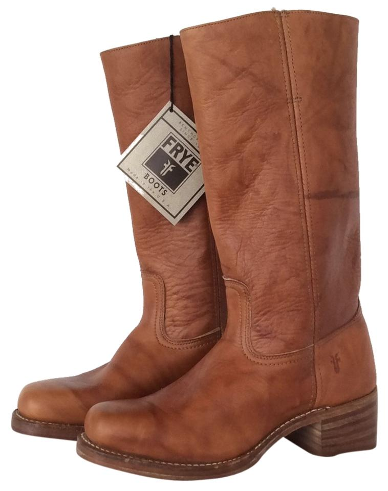 Women's Frye Comfortable Brown Campus #481204 Boots/Booties Comfortable Frye touch b298e5