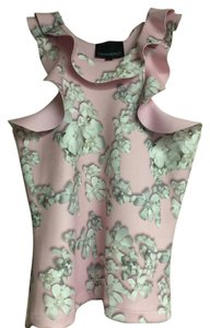 Cynthia Rowley Top Pink Floral
