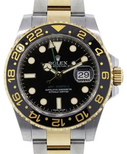 Rolex Rolex 116713 GMT Master II Two Tone Watch