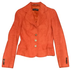 Dolce&Gabbana Orange Blazer