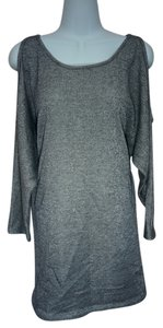Bar III short dress Silver Sweater Sweater on Tradesy