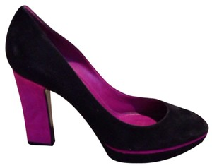 Sergio Rossi Black/purple Pumps