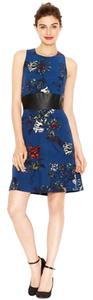 Kensie short dress Blue Knee Length on Tradesy