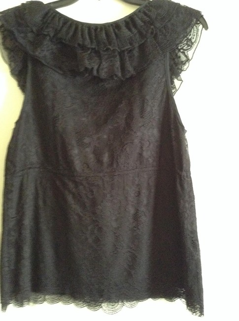 "Alice + Olivia Lined Length: 24"" Width: 17"" At Chest Missing Care Tag: Dry Clean Only Top Black"