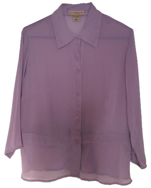 Preload https://item3.tradesy.com/images/notations-lavender-button-down-top-size-12-l-10329172-0-1.jpg?width=400&height=650