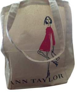 Ann Taylor Ann Taylor Canvas tote bag