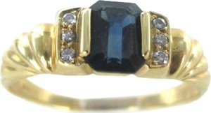 Other 14KT YELLOW GOLD RING 6 DIAMONDS .06 CARAT SZ 7 ENGAGEMENT 2.0 GRAMS NO SCRAP