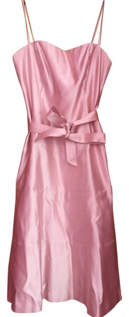 Preload https://item1.tradesy.com/images/bcbgmaxazria-pink-knee-length-cocktail-dress-size-10-m-10329445-0-2.jpg?width=400&height=650