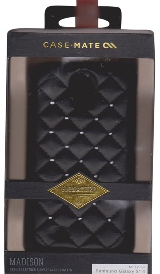 Case-Mate Case Mate Samsung Galaxy 4 Black Quilted Leather Swarovski Crystal