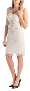 Sue Wong Padded Bust Beaded Dress