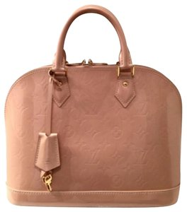 Louis Vuitton Satchel in Peach Pink