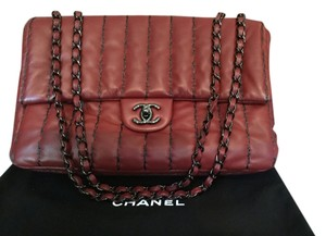 Chanel Like New Lamb Leather Soft Shoulder Bag