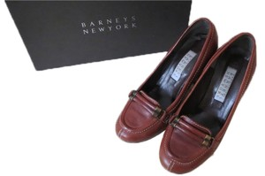 Barneys New York Brown Pumps