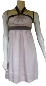 BCBGMAXAZRIA Satin Halter Bcbg Max Azria Dress