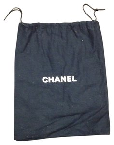 Chanel Chanel #4243 drawstring Dust Pouch Large 8.5 X 10.5 Tote Bag