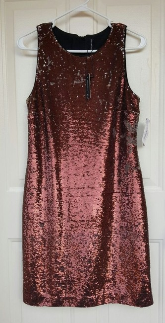 W118 by Walter Baker Formal New Years Round Neckline Sequin Dress