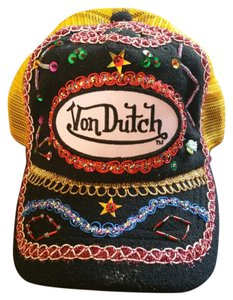 Von Dutch Von Dutch Blingy Hat Multi Color New Condition