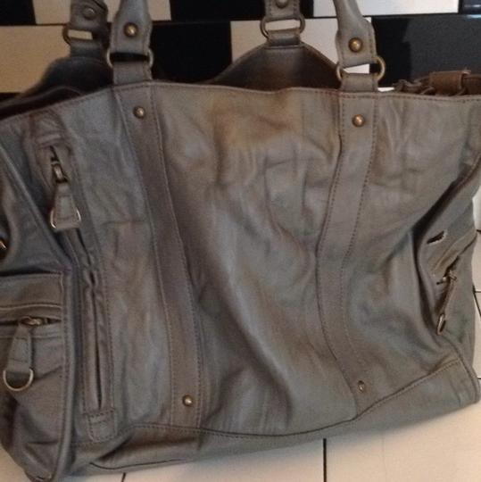 Bica Cheia Satchel in Gray